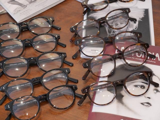 Brille mit Kette Herren Monokel Zwicker Sehstärke Steampunk alte Brille Optik