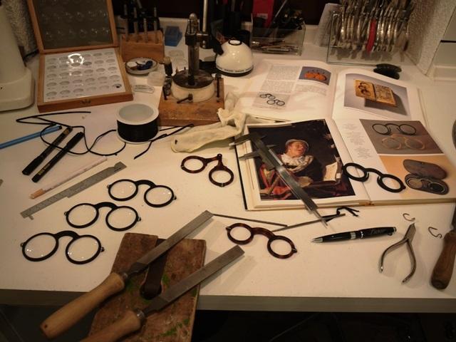 Brillenmacher Werkstatt